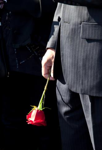Kledingtips-begrafenis